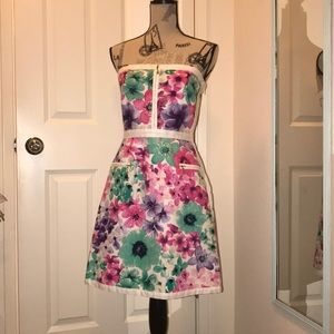Laundry by Shelli Segal Floral Tube Dress
